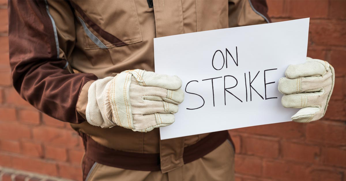 2018 Saw An Increase In Striking Workers