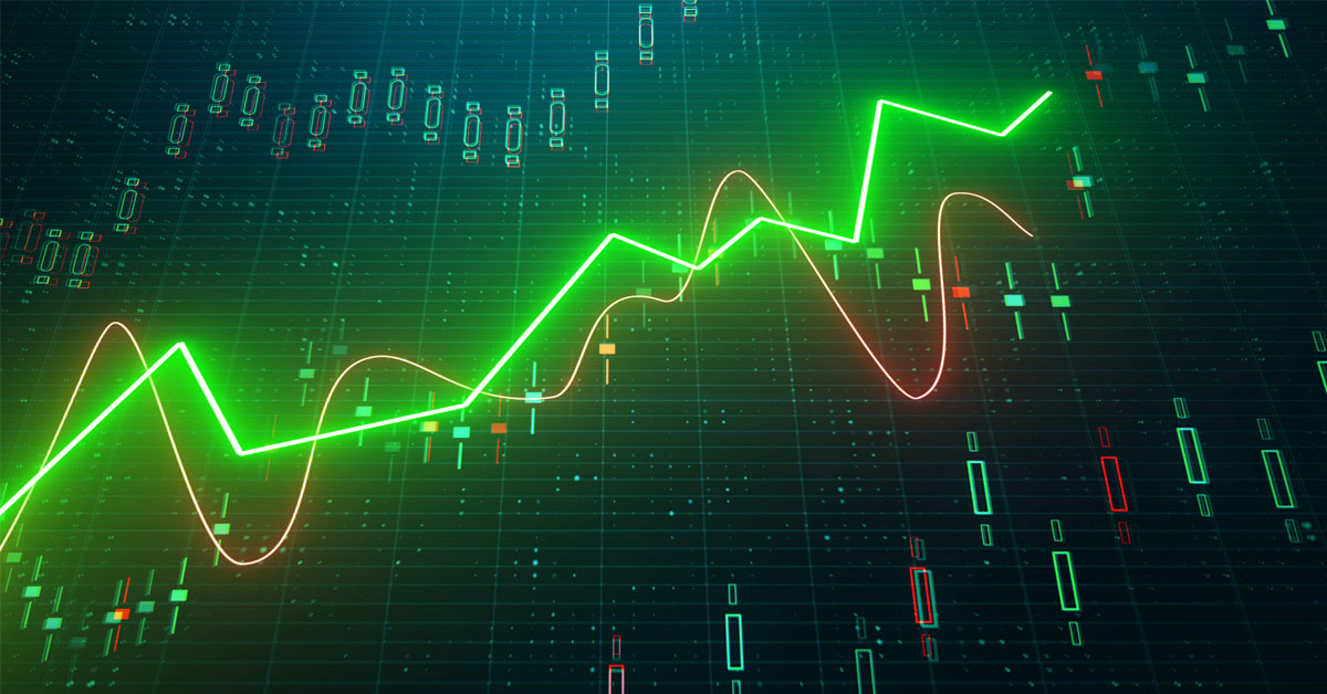 Technology & Financials Lead In April